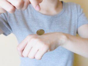 コイン 表裏